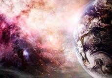 地球的创作 免版税库存照片