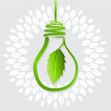 地球的绿色想法 库存图片