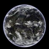 地球的行星 免版税图库摄影