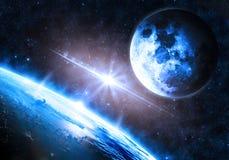 地球的表面 图库摄影