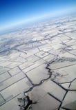 地球看法从,冬天 免版税库存图片