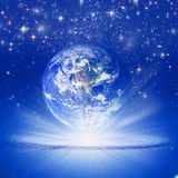 地球精神 向量例证