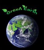 地球绿色 图库摄影