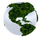 地球绿色 免版税库存图片