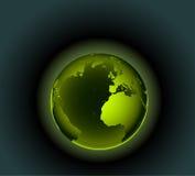 地球绿色 库存照片