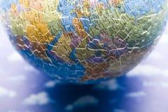 地球行星难题 图库摄影