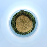 地球行星 免版税库存照片