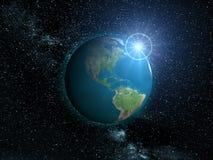 地球行星 库存照片