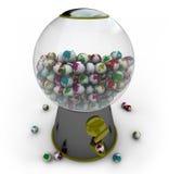 地球装载了小gumball的设备 免版税库存照片