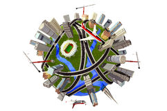 地球设计 免版税库存图片