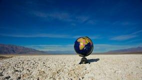 地球远期 库存照片