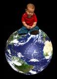 地球远期 库存图片
