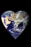 地球重点 图库摄影