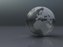 地球银 免版税图库摄影