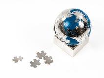 地球难题 免版税图库摄影