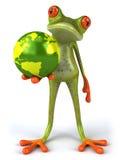 地球青蛙保护 皇族释放例证