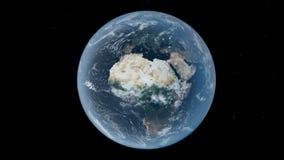 地球非洲 库存照片