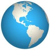 地球3d 库存例证