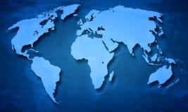 地球Map.Save地球概念 免版税图库摄影