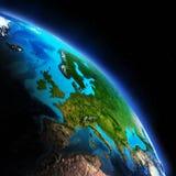地球Map.Save地球概念 免版税库存图片