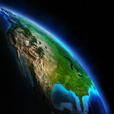 地球Map.Save地球概念 图库摄影