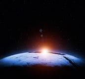 地球Map.Save地球概念 库存图片
