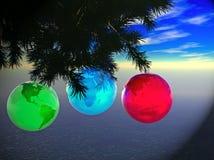 地球ornament2 免版税库存图片
