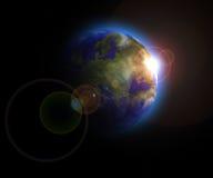 地球zeme 库存图片