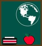 地理课程 向量例证