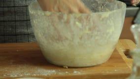 地瓜油炸玉米粉饼食谱集合 影视素材
