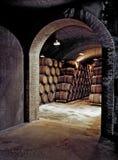地窖地下酒 库存照片