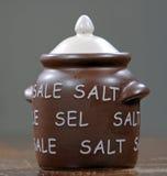 地窖盐 库存图片