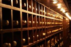 地窖酒 库存图片
