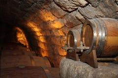地窖酒 免版税库存图片