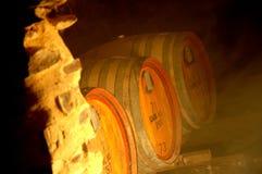 地窖酒 库存照片