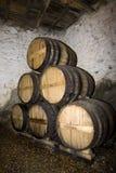 地窖douro旧港口葡萄牙酒 图库摄影