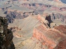 地质在工作,大峡谷在亚利桑那 库存照片