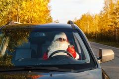 地道圣诞老人 免版税库存照片