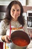 地道烹调意大利语纽约 库存照片