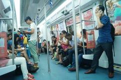 地铁交通 免版税图库摄影