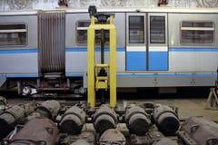 地铁修理集中处 库存图片