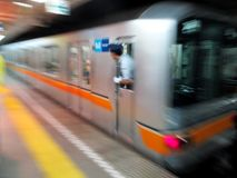 地铁在日本 免版税库存图片