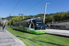地铁在毕尔巴鄂,西班牙 库存图片