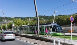 地铁在毕尔巴鄂,西班牙 免版税图库摄影