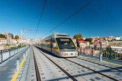 地铁在波尔图,葡萄牙 图库摄影