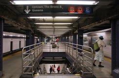 地铁在纽约 免版税库存照片