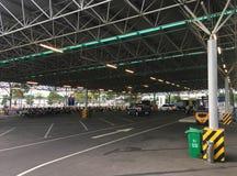 地铁大型超级市场停车处,头顿,越南 免版税图库摄影