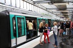 地铁巴黎 免版税库存图片