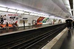 地铁巴黎 图库摄影