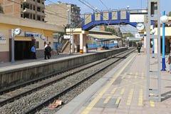 地铁平台开罗 库存图片